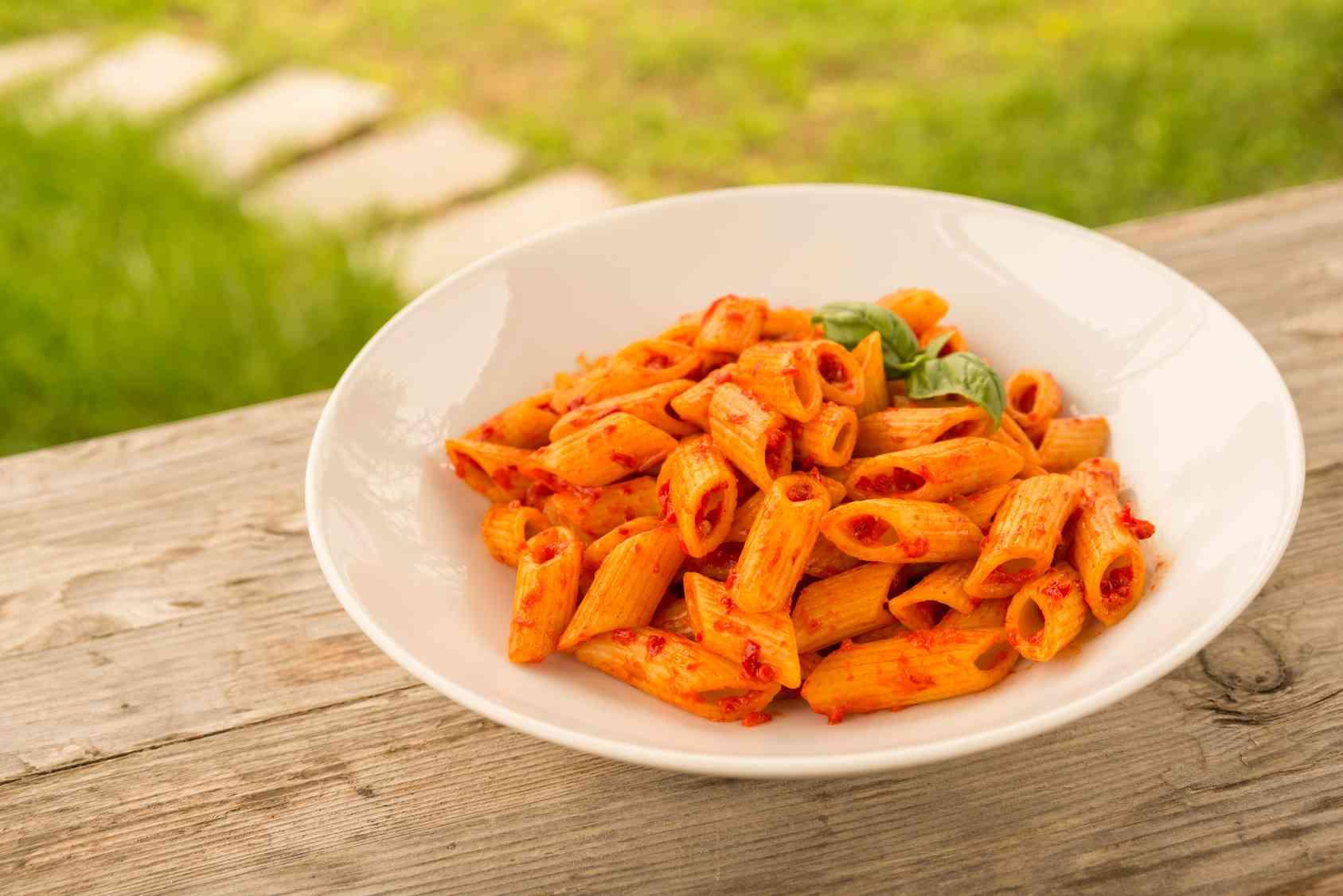 Pasta con la nduja calabrese piatti tipici calabresi for Piatti tipici laziali