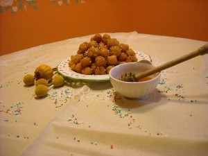 ricetta pignolata calabrese al miele
