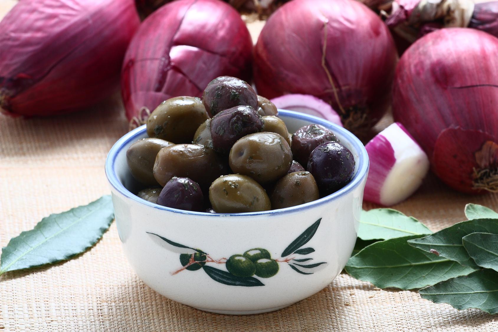 Olive verdi alla calabrese