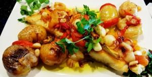 baccalà peperoni e patate alla cosentina