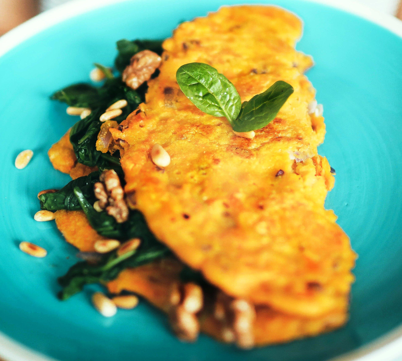 frittata di patate senza uova alla calabrese