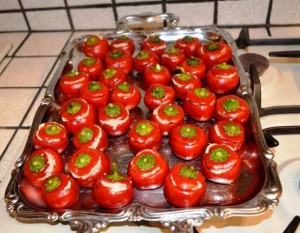 farcire i peperoncini