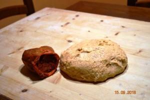 impasto base pizza rustica calabrese con nduja
