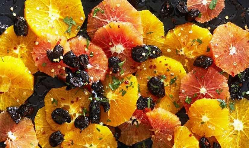 insalata di arance e cipolle di tropea